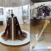 Coroana, sceptrul și mantia Regelui Ferdinand - Expoziţie la Oradea