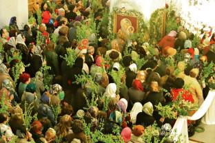 Duminică - Intrarea Domnului în Ierusalim (Floriile)