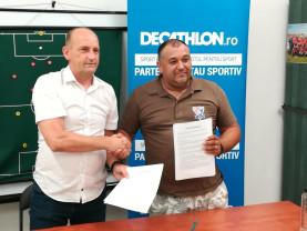 United Bihor și Crișana Oradea au semnat un protocol - Parteneriat pentru dezvoltarea fotbalului