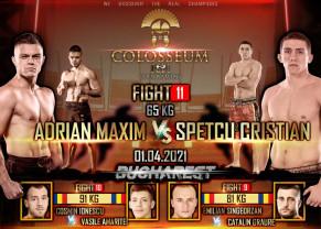Gala Colosseum Tournament kickboxing - Adrian Maxim luptă în această seară