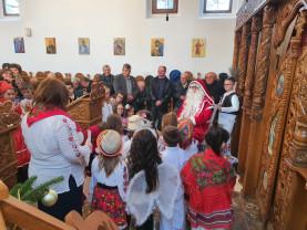 Parohia Ortodoxă Gepiu - Serbare de Crăciun şi concert de colinde