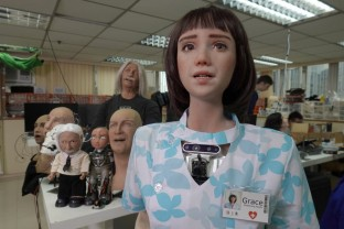 Realizat de creatorii robotului umanoid Sophia - Prototipul Grace, destinat celor izolați