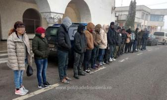 Nouăsprezece cetăţeni din Irak şi Siria au încercat să iasă ilegal din ţară - Migranţi opriţi la frontieră