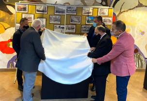 Eveniment de inaugurare la Casa de Cultură Marghita - Hartă tactilă pentru orientare
