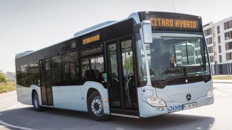 Din cele 15 achiziţionate pe fonduri europene - A sosit primul autobuz hibrid
