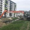 Deșeuri strânse de angajații ABA Crișuri - Decolmatarea albiei pârâului Peța