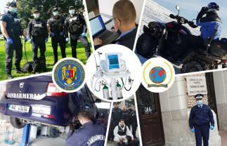 Jandarmii bihoreni au adunat bani - Cumpără un ventilator mecanic