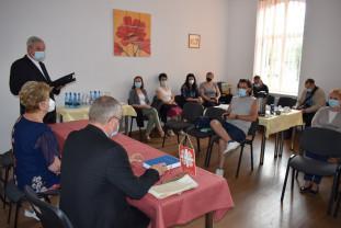 Festivitate de inaugurare în Oradea - Au fost inaugurate cabinetele medicale Caritas