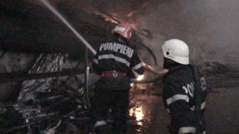 Incendiu la o firmă pe strada Ogorului
