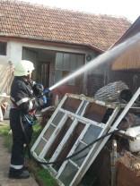 Incendii în Tileagd, Aleșd și Salonta - O persoană rănită