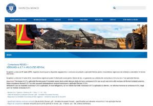 Registrul electronic de evidență a zilierilor - Aplicaţia mobilă Inspecţia Muncii
