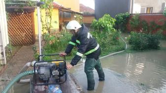 Săptămână grea pentru pompierii bihoreni - 21 de misiuni într-o singură zi