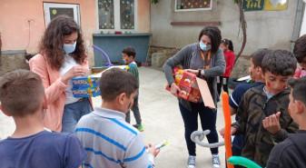 """Centrul de tip after-school """"Sfântul Martin"""" - O zi plină de culoare pentru copiii din Ioaniș"""