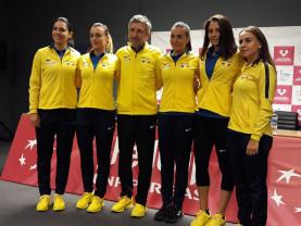 România şi Rusia se duelează în FED Cup - Irina Bara, în faţa debutului în echipa