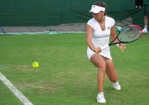 Irina Bara joacă pe iarba londoneză - Pe tabloul principal la dublu