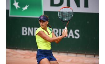 Performanță pentru tenisul șteian - Irina Bara, pe tabloul principal de la Roland Garros