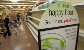 """Tone de mâncare sunt irosite la nivel mondial -  """"Ora fericită"""" în supermarket"""