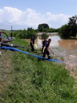 Pompierii bihoreni au intervenit în şapte localităţi - Intervenții la inundații și incendii
