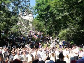 Sărbătoarea Schimbării la Față a Domnului - 10.000 de pelerini la Mănăstirea Izbuc
