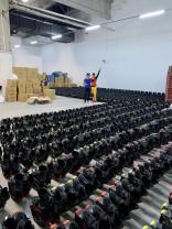 Peste 1500 de persoane s-au înscris la cea mai mare oră de Kangoo Jumps - România va intra duminică în Cartea Recordurilor