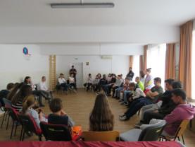 Copiii din Centrul de zi, impresionați de povestea lui S.I. - Lecție de viață de la un deținut