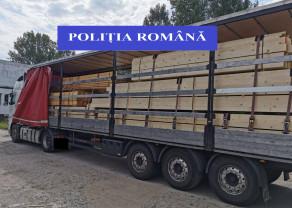 Borş/ Marghita - Lemne fără documente, confiscate