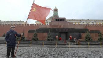 """Mausoleul din Piaţa Roşie, un obiectiv """"sacru"""" pentru Putin - Nimeni nu se atinge de Lenin"""