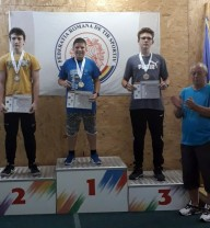 Campion naţional de juniori III la tir sportiv - Un orădean, pe prima treaptă a podiumului
