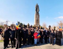 Ziua Naţională a României, sărbătorită la Liceul Ortodox - Pentru România Mare