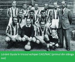 Cutia cu amintiri. Portrete alb-verzi - Gyula Lóránt, sfârșit pe marginea terenului de joc (V)