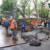 Lucrări la rețelele de apă și canalizare - Circulaţie parţial închisă în Parcul Traian