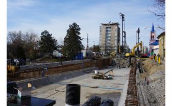 Municipalitatea susţine că lucrările la Pasajul Magheru şi Podul Dacia sunt avansate - Investiţie finalizată în septembrie