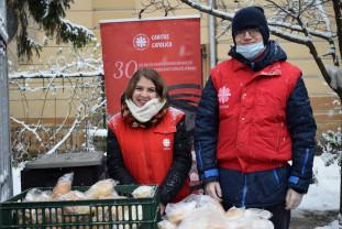 Caritas Catolica Oradea - Mâncare caldă gratuită