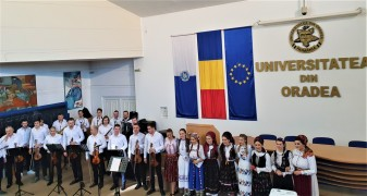 Manifestare dedicată Zilei Naționale la Universitatea din Oradea - O zi de sărbătoare