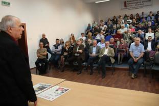 """Nicolae Manolescu, la Oradea - """"Statul este obligat să susțină cultura"""""""