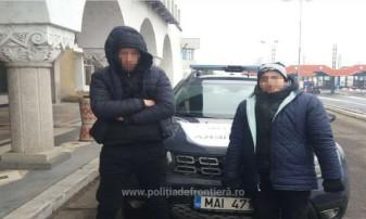 Patru marocani opriţi la frontieră - Ilegal spre Ungaria