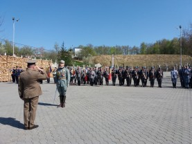O sută de ani de la instaurarea administraţiei româneşti în Bihor - Marş de reconstituire istorică
