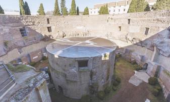 Roma. Monumentul a fost lăsat în paragină ani de zile - Mausoleul lui Augustus, redeschis publicului