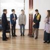Elevii beiuşeni l-au cinstit pe Domnitorul Unirii - Teatru istoric, în semn de omagiu