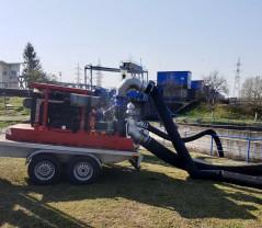 ABA Crișuri a verificat motopompele aflate în dotare - Pregătiți pentru intervenții