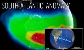 NASA - Anomalie în câmpul magnetic al Pământului