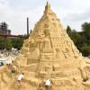 Orașul german Duisburg, noul deținător al recordului mondial - Cel mai înalt castel de nisip