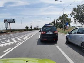 Accident rutier - Circulaţie blocată în Nojorid