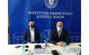 Eduard Novak, vizită de lucru la Oradea - Reformarea sportului românesc din temelii