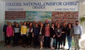 """La Colegiul Național """"Onisifor Ghibu"""" din Oradea - Profesorii vor învăța să ofere lecții atractive"""