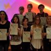 Elevi şi profesori ai Liceului Ortodox din Oradea - Reuniune de proiect transnaţional