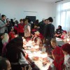 Drăgoteni. Festivalul de încondeiat ouă - Eveniment derulat într-o școală renovată