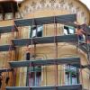 Reabilitarea Palatului Stern se apropie de finalizare - S-au dat jos schelele