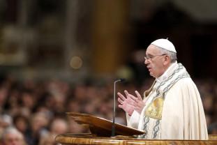 Papa Francisc a oficiat o slujbă pe Câmpia Libertăţii de la Blaj - Şapte episcopi beatificaţi