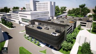 UPU a Spitalului Clinic Judeţean de Urgenţă - Clădirea, finalizată în acest an